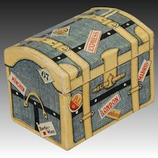 Dresden Candy Container Dome-top Trunk
