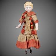 Parian Shoulderhead Dollhouse Doll