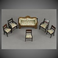 Biedermeier Partial Parlor Suite