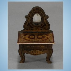Biedermeier Mirrored Vanity