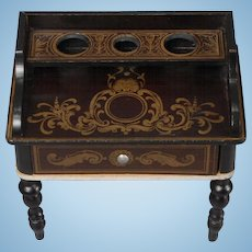 Classic Biedermeier Vanity Table in a Slightly Larger Scale