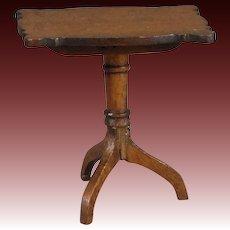 Wooden Tilt-top Tea Table for Dollhouse