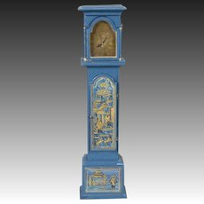 Artist-created, Miniature Grandfather Clock