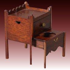 Artist-created, Miniature Privy Cabinet