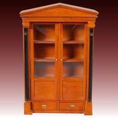 Bespaq 1/12 Scale Bookcase in the Biedermeier Taste