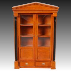 Bespaq 1/12 Scale Bookcase in the Biedermeier Taste
