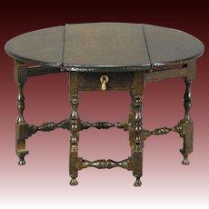 Bespaq 1/12 Scale Gate-leg Table