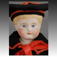 German Parian Boy Doll