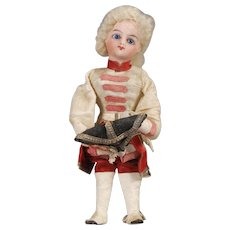 "French Novelty ""Hat Tipper"" Marquis Doll"