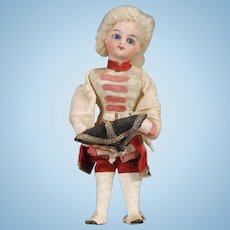 """French Novelty """"Hat Tipper"""" Marquis Doll"""