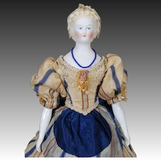 German Parian Doll 19th Century