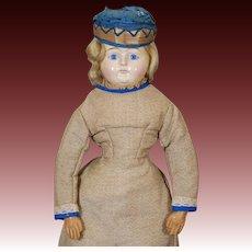 German  Papier-mache Holz Masse Doll