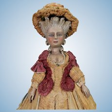 18th Century Royal French Court Doll