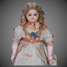 Cuno & Otto Dressel German Reinforced Wax Doll