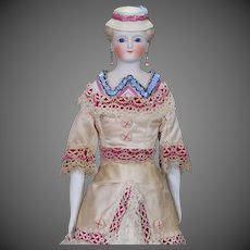 German Parian Lady Dollhouse Doll from the Kling firm (HOLD for A.)