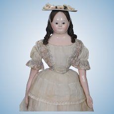 German Papier-mache Doll from Andreas Voit
