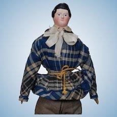 German Papier-mache Boy Doll from the Kestner