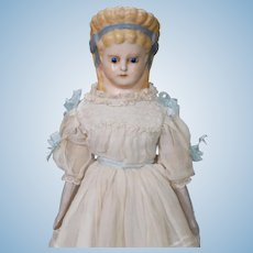 German Wax-over Papier-mache circa 1870s