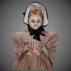 Bagman's Baby English Wax Over Papier-mache, circa 1830