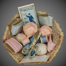 Sewing Basket for Fashion Doll