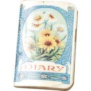Miniature Diary, circa 1927