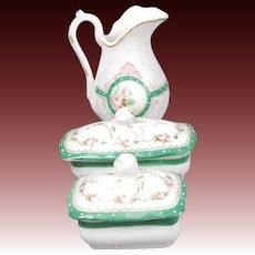 Porcelain Toilette Set