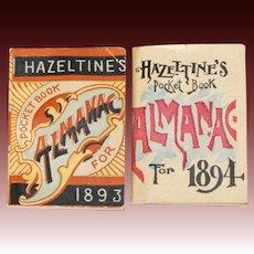 Hazeltine's Pocket Book Almanacs