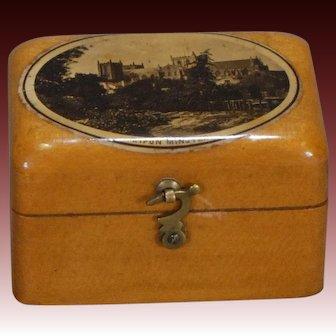 English Satinwood Box