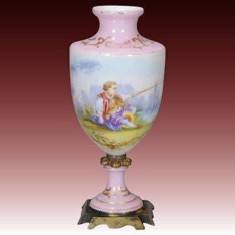 French porcelain Vase