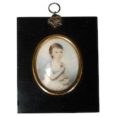 Early 19th Century Portrait Miniature