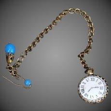 French Fashion Doll Pocket Watch