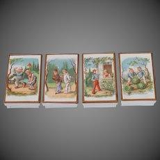 French Carton Bead Boxes