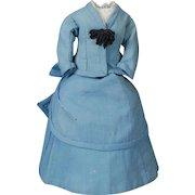 Two-piece Antique Original Fashion Doll Ensemble