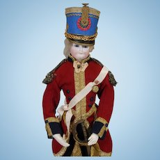 Early Bru Soldier Doll