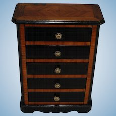 French Chest of Five Drawers