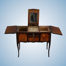 French Louis XV style Poudreuse, Ladies' Dressing Table