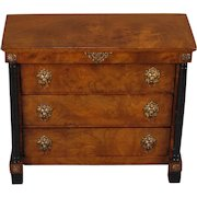 French Chest of Three Drawers