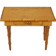 French Faux Bamboo Table