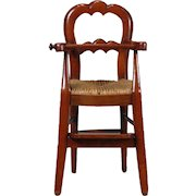 French Youth High Chair