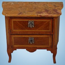 Miniature French Commode, in the Classic Louise XVI Taste