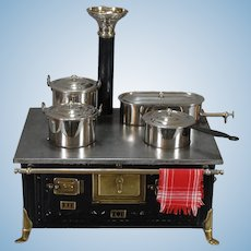 German Metal Cooking Range