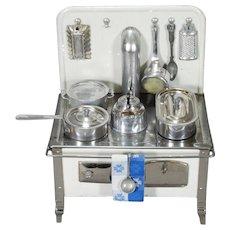 German Toy Cooking Range