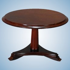 English Mahogany Center Table