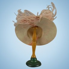 Petite French or German Doll Hat