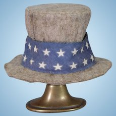 Uncle Sam Doll Hat