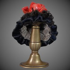 Velvet Doll Hat