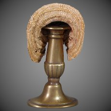 Classic French Straw Doll Bonnet