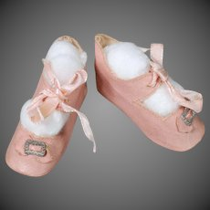 Pink German Doll Shoes