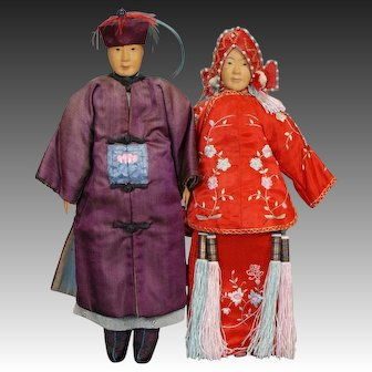 Bride and Groom Pair - Door of Hope Mission Dolls