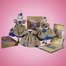 """Palais Royale"" authentic Huret design sewing kit by Louise Hedrick 14.5"" size"